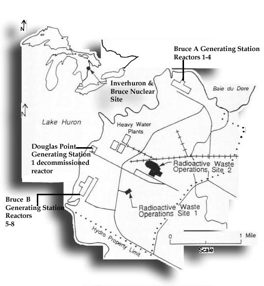 Map showing where Inverhuron is located.